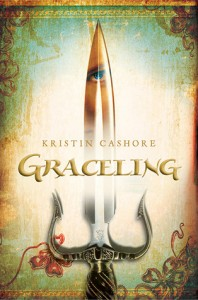 """Book Cover for """"Graceling"""" by Kristin Cashore"""