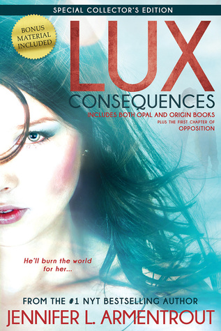 Weekend Reads #42 – Consequences: Opal & Origin by Jennifer L Armentrout