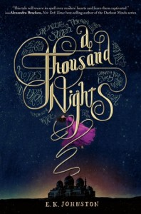 """Book Cover for """"A Thousand Nights"""" by E.K. Johnson"""