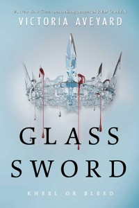 """Book Cover for """"Glass Sword"""" by Victoria Aveyard"""