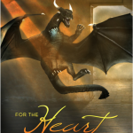 """Book Cover for """"For the Heart of Dragons"""" by Julie Wetzel"""