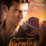 """Book Cover for """"Burning Nights"""" by Julie Wetzel"""