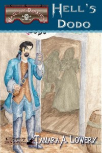 """Book Cover for """"Hell's Dodo"""" by Tamara A. Lowery"""