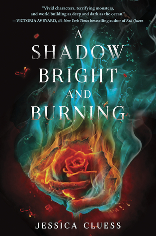 """Book Cover for """"A Shadow Bright and Burning"""" by Jessica Cluess"""