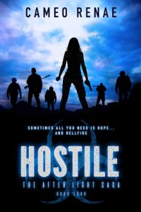 """Book Cover for """"Hostile"""" by Cameo Renae"""