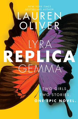 """Book Cover for """"Replica"""" by Lauren Oliver"""
