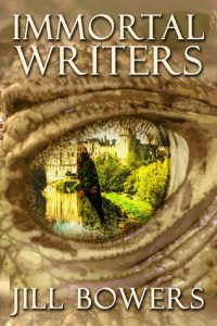 """Book Cover for """"Immortal Writers"""" by Jill Bowers"""