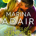 """Book Cover for """"Last Kiss of Summer"""" by Marina Adair"""