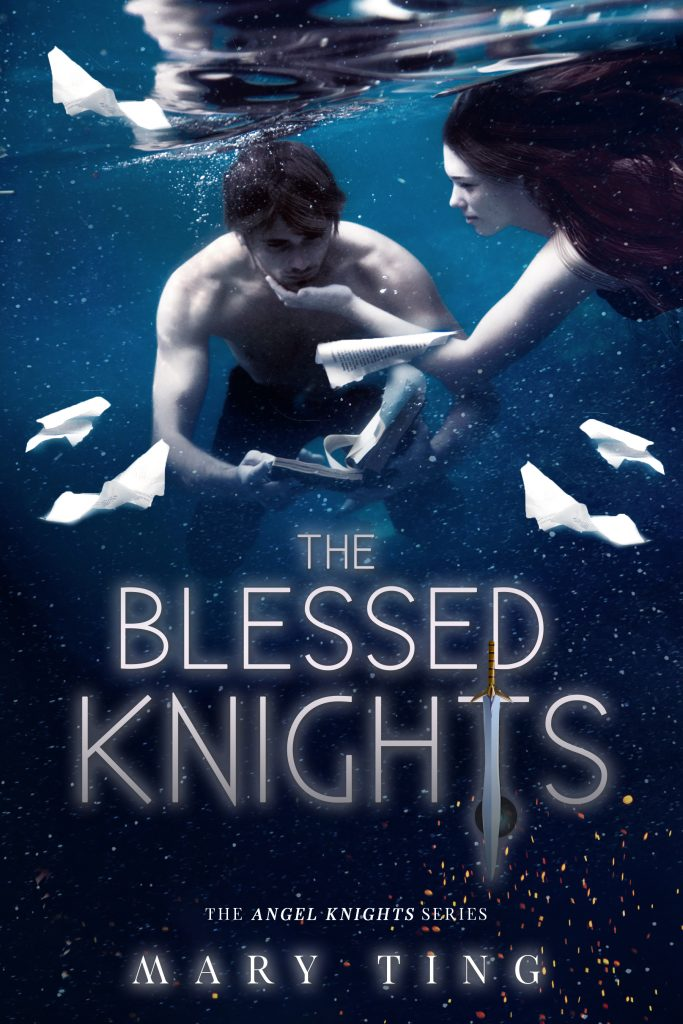 """Book Cover for """"The Blessed Knights"""" by Mary Ting"""