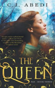 """Book Cover for """"The Queen"""" by C.J. Abed"""