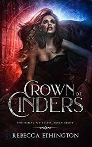 """Book Cover for """"Crown of Cinders"""" by Rebecca Ethington"""