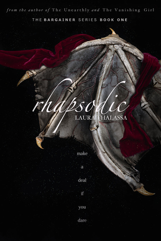 """Book Cover for """"Rhapsodic"""" by Laura Thalassa"""