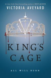 """Book Cover for """"King's Cage"""" by Victoria Aveyard"""