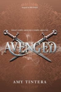"""Book Cover for """"Avenged"""" by Amy Tintera"""