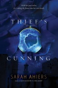 """Book Cover for """"Thief's Cunning"""" by Sarah Ahiers"""