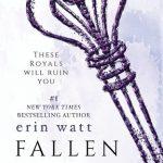 """Book Cover for """"Fallen Heir"""" by Erin Watt"""