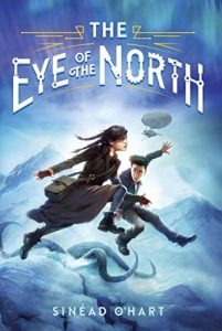 """Book Cover for """"The Eye of the North"""" by Sinéad O'Hart"""