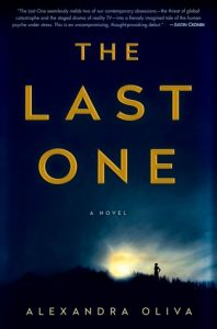 """Book Cover for """"The Last One"""" by Alexandra Oliva"""