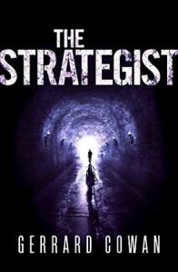 """Book Cover for """"The Strategist"""" by Gerrard Cowan"""