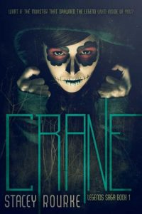 """Book Cover for """"Crane"""" by Stacey Rourke"""