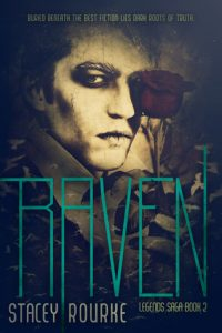"""Book Cover for """"Raven"""" by Stacey Rourke"""