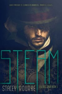 """Book Cover for """"Steam"""" by Stacey Rourke"""