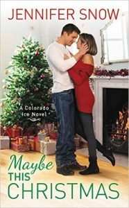 """Book Cover for """"Maybe this Christmas"""" by Jennifer Snow"""