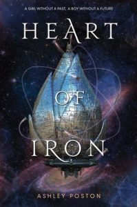 """Book Cover for """"Heart of Iron"""" by Ashley Poston"""