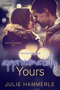 """Book Cover for """"Approximately Yours"""" by Julie Hammerle"""