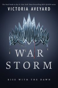 """Book Cover for """"War Storm"""" by Victoria Aveyard"""