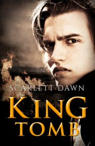 """Book Cover for """"King Tomb"""" by Scarlett Dawn"""