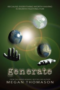 """Book Cover for """"Generate"""" by Megan Thomason"""