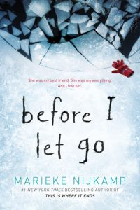 """Book Cover for """"Before I Let Go"""" by Marieke Nijkamp"""