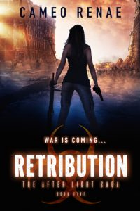 "Book Cover for ""Retribution"" by Cameo Renae"