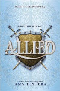 """Book Cover for """"Allied"""" by Amy Tintera"""