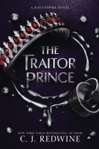 """Book Cover for """"The Traitor Prince"""" by CJ Redwine"""
