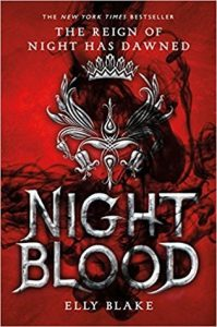 """Book Cover for """"Nightblood"""" by Elly Blake"""