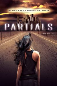 """Book Cover for """"Partials"""" by Dan Wells"""