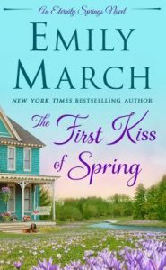 """Book Cover for """"The First Kiss of Spring"""" by Emily March"""