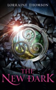 """Book Cover for """"The New Dark"""" by Lorraine Thomson"""