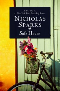 """Book Cover for """"Safe Haven"""" by Nicholas Sparks"""