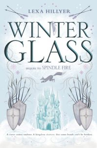 """Book Cover for """"Winter Glass"""" by Lexa Hillyer"""