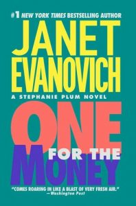 """Book Cover for """"One for the Money"""" by Janet Evanovich"""