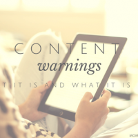 Content Warnings: What It Is and What It Isn't