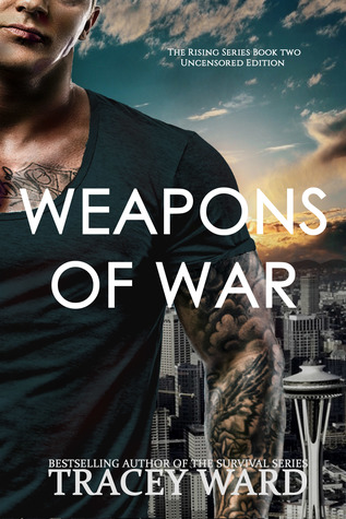 """Book Cover for """"Weapons of War"""" by Tracey Ward"""