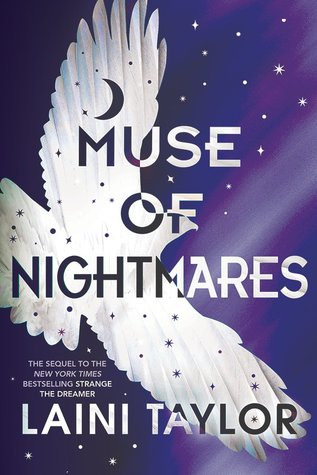 """Book Cover for """"Muse of Nightmares"""" by Laini Taylor"""