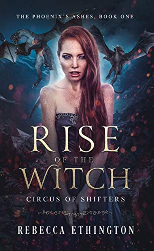 """Book Cover for """"Rise of the Witch"""" by Rebecca Ethington"""