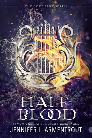 """Book Cover for """"Half-Blood"""" by Jennifer L. Armentrout"""