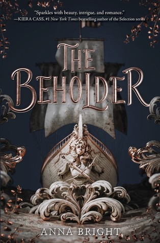 """Book Cover for """"The Beholder"""" by Anna Bright"""
