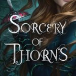 """Book Cover for """"Sorcery of Thorns"""" by Margaret Rogerson"""